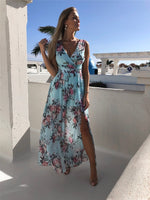 SAINT TROPEZ Resort Wear Floral Dress