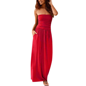 CARDIFF BY THE SEA Resort Wear Bandeau Dress