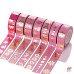 Pink Collection - 10m Foiled Washi Tape