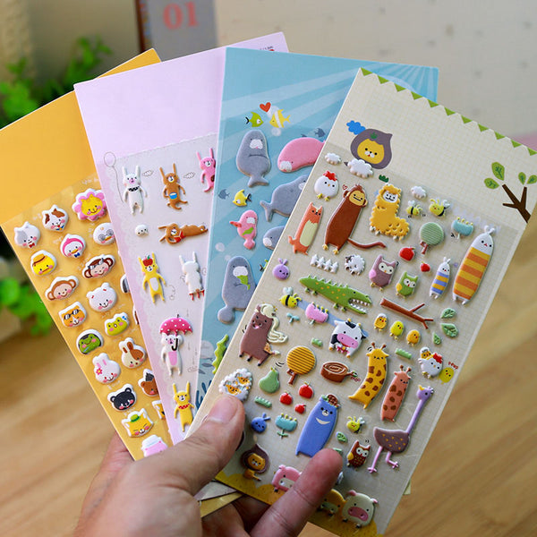 Kawaii - Decorative Stickers Collection - 18 Design Choices