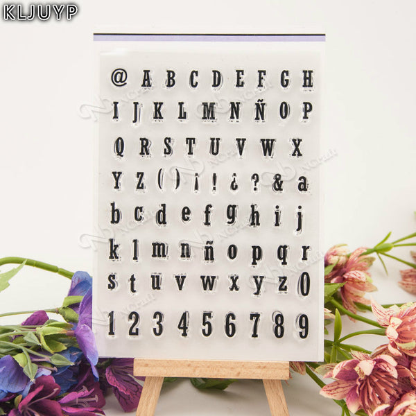 Alphabet ABC - Clear Stamp