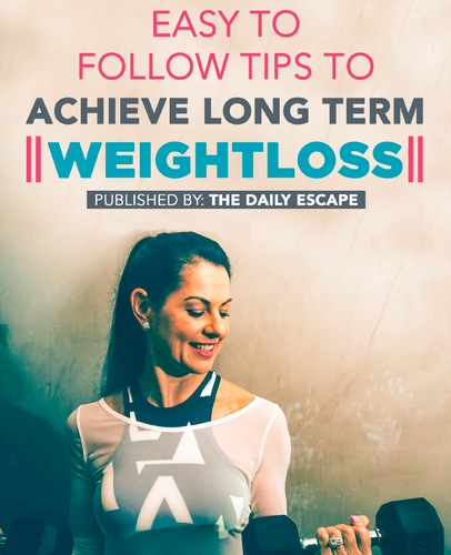 Easy to Follow Tips for Long Term Weightloss (e-Book )