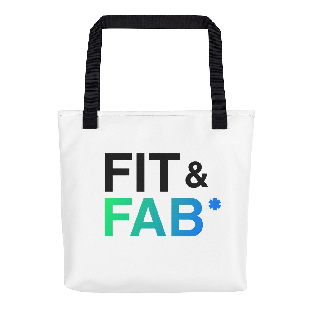 FIT & FAB tote bag