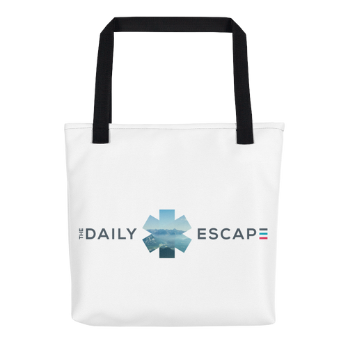 The Daily Escape tote bag