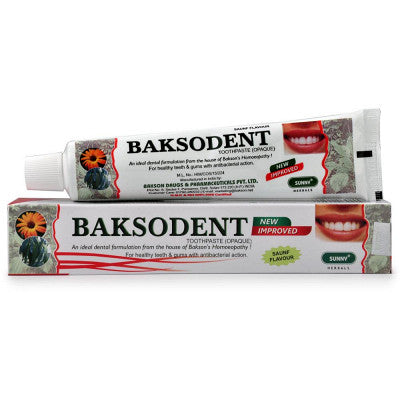 Baksodent Toothpaste