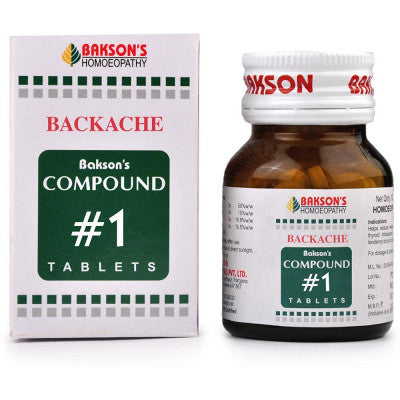 Compound No 1 (Backache)