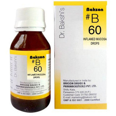 B60 Inflamed Mucosa Drops