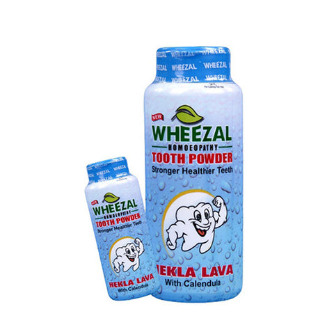 Wheezal Hekla Lava Tooth Powder