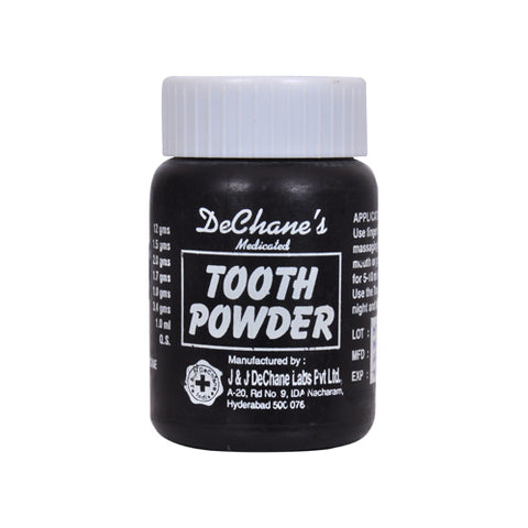 J & J Dechane's Medicated Tooth Powder