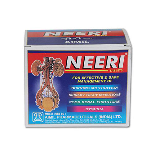 NEERI Tablet: Ayurvedic Medicine for Kidney diseases