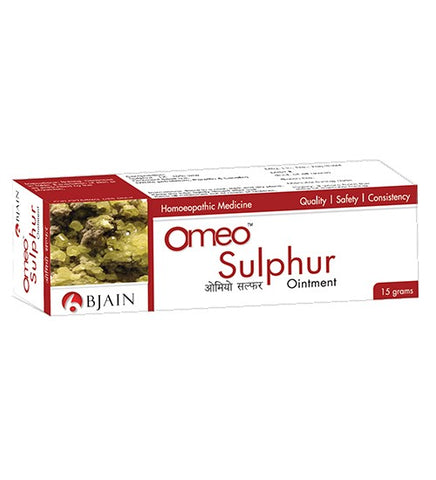 Omeo Sulphur - Ointment