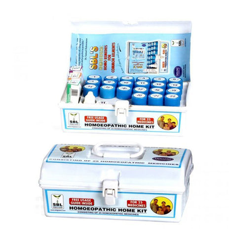 SBL Homeopathic Home Kit - 25 Emergency Medicines
