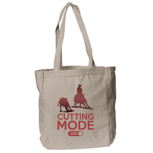 Cutting Mode ON Tote Bag in Natural
