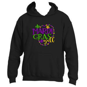 Mardi Gras Y'All Fun Adult  Mardi Gras Hoodie