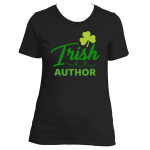St Patrick's Day Irish Author Women's T-Shirt