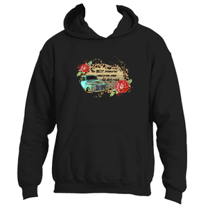 Vintage Truck The Best Memories Come From Some Old Dirt Road Adult Hoodie