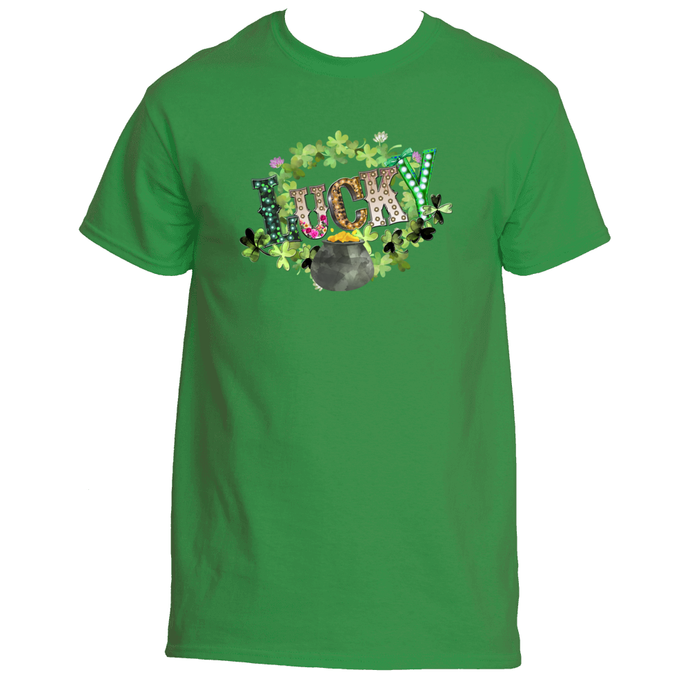 Lucky Pot of Gold St Patrick's Day Men's TShirt