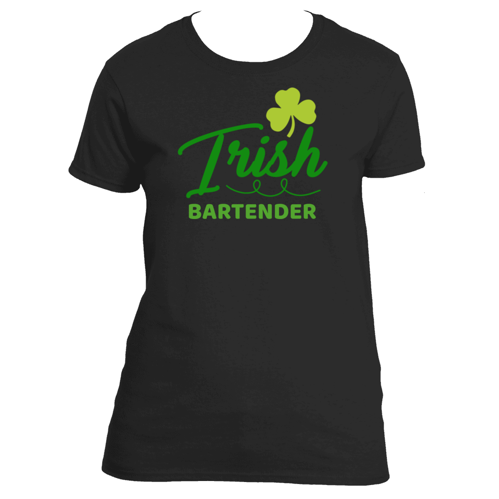 St Patrick's Day Irish Bartender Women's T-Shirt