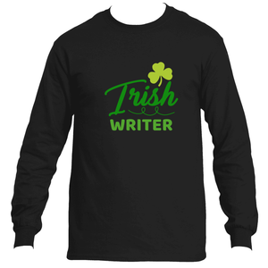 St Patrick's Day Irish Writer Men's Long Sleeve T-Shirt