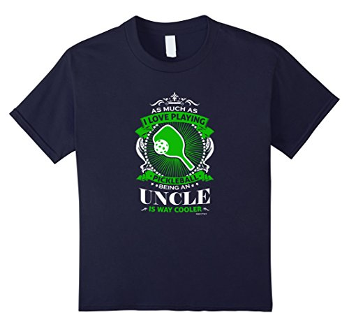 Love Pickleball Uncle is Way Cooler TShirt