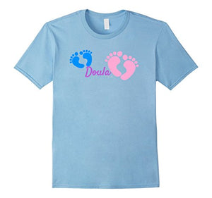 Doula Baby Footprint Doula T-Shirt