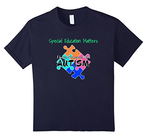 Special Education Matters Autism Teacher TShirt