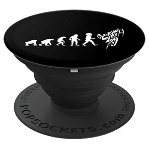 Sled Evolution Man to Snowmobile SnoCross - PopSockets Grip and Stand for Phones and Tablets