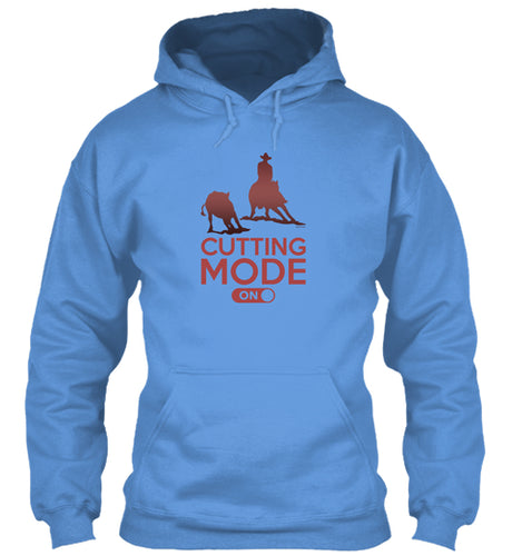 Cutting Mode On Cutting Horse Hoodie