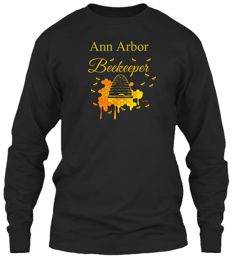 Ann Arbor Beekeeper Long Sleeve T-Shirt