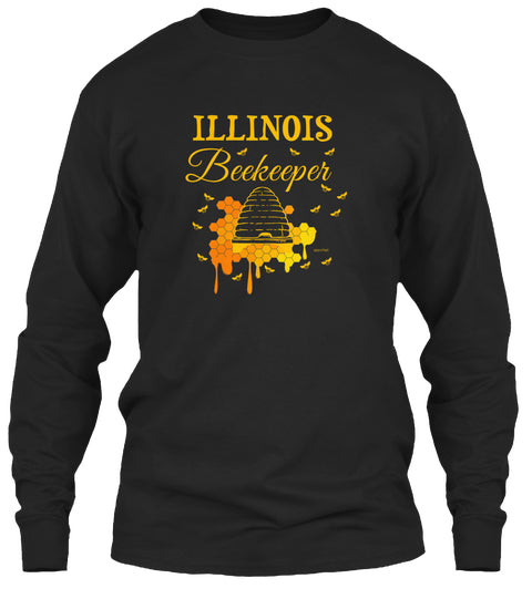 Illinois Beekeeper Long Sleeve Tee