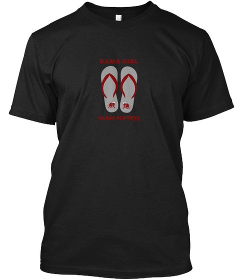 Bama Girl Glass Slippers Unisex T-Shirt