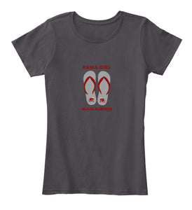 Bama Girl Glass Slippers Women's Premium T-Shirt