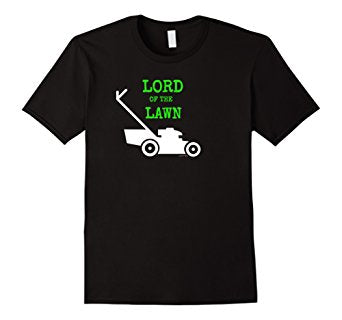 Lord of the Lawn Boss Lawn Mowing Shirt