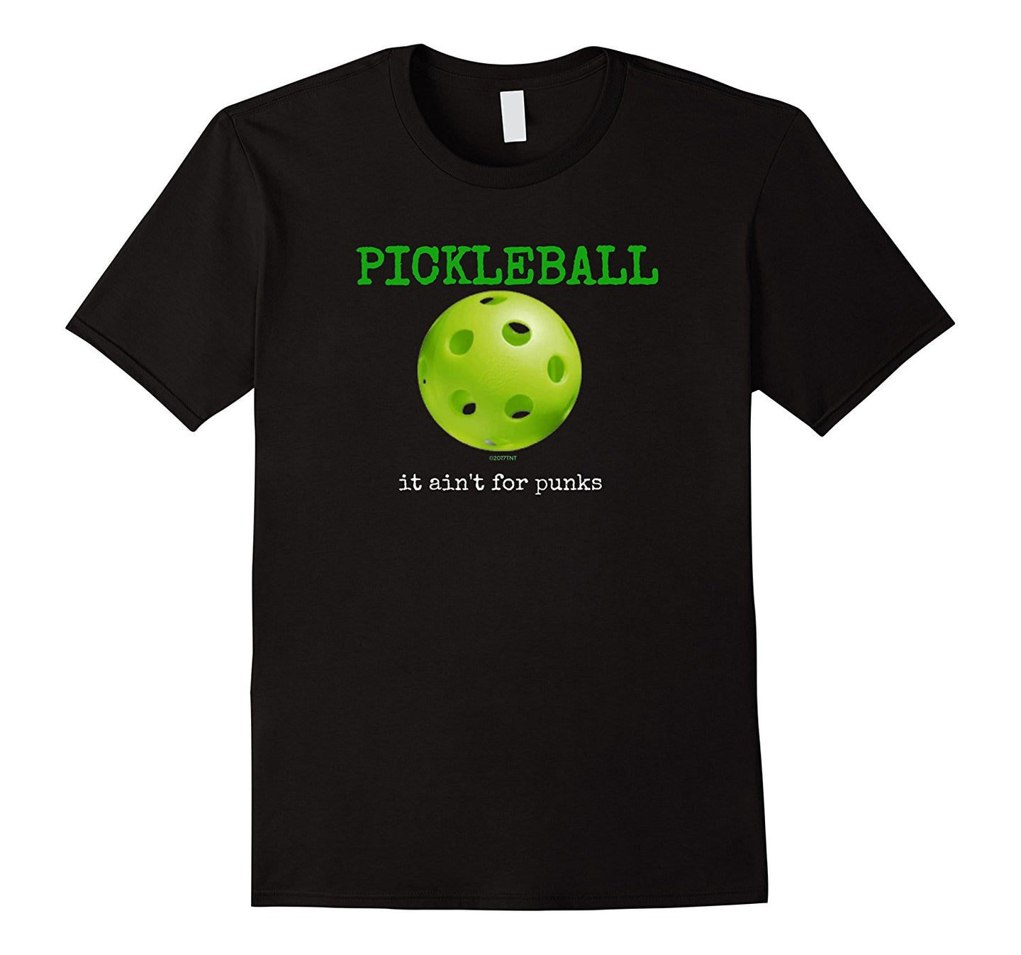 Pickleball It Ain't For Punks Pickleball Player TShirt