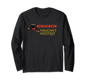 Abracadabra Magician Assistant Long Sleeve Shirt