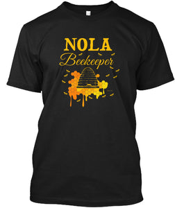 NOLA Beekeeping Shirt for the New Orleans Beekeeper T-Shirt