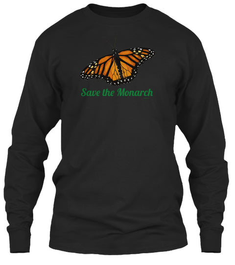 Save the Monarch Butterfly Unisex Long Sleeve Shirt