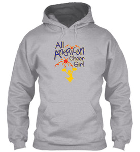 All American Cheer Girl Hoodie