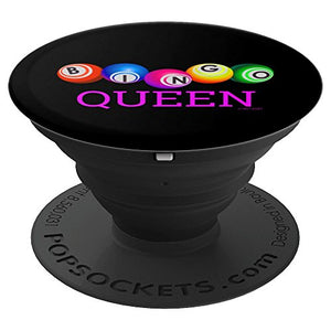 Bingo Queen - PopSockets Grip and Stand for Phones and Tablets