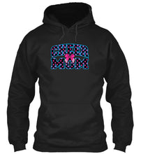 Cheer Mom Polka Dot and Bow Hoodie