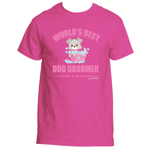World's Best Dog Groomer T-Shirt