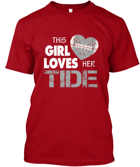 This Girl Loves Her Tide Men's Tee