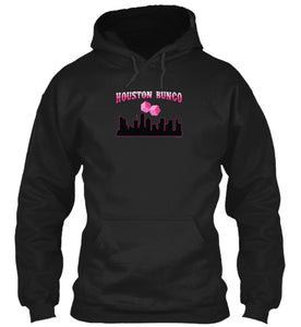 Houston Bunco Fun Bunco Meetup Party Hoodie in Black
