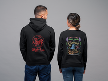 Shotokan Karate Red Tiger Back Design Hoodie