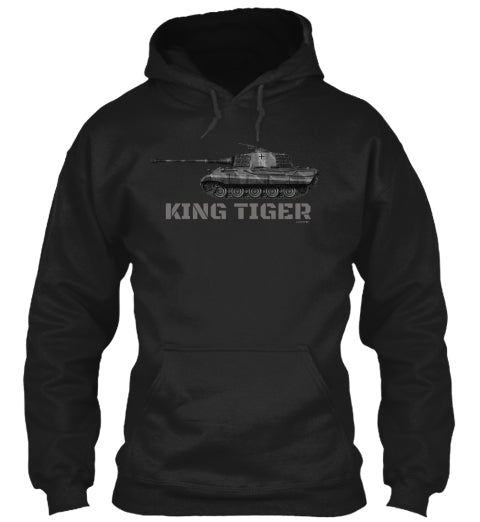 Panzer King Tiger WW2 German Tank Hoodie