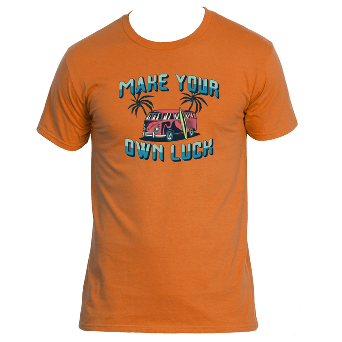 Make Your Own Luck Men's Motivational TShirt