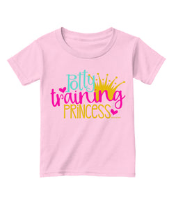 Potty Training Princess Toddler TShirt
