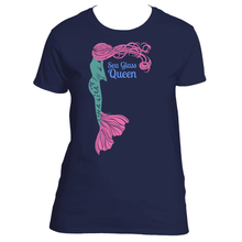 Sea Glass Queen Mermaid Women's TShirt