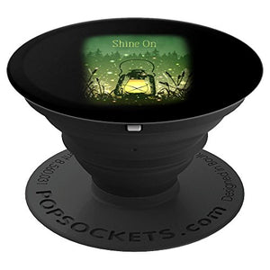 Shine On Fireflies and Lantern Motivational - PopSockets Grip and Stand for Phones and Tablets