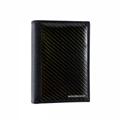 Carbon Fibre Passport Travel Wallet - Mindbendr
